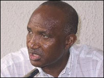 Atangana Mballa, Fecafoot's secretary general