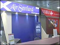 Air Scotland has been hit by delays