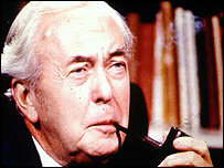 Harold Wilson and his pipe