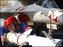 Avion de guerra chino