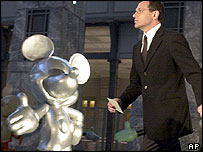 Disney's new CEO, Robert Iger