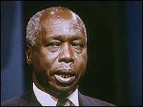 Former Kenya President Daniel Arap Moi
