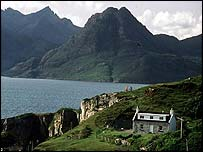 Cullens mountain range, Isle of Skye