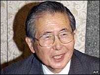 Peru's former President, Alberto Fujimori