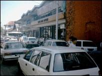 Traffic in Rangoon
