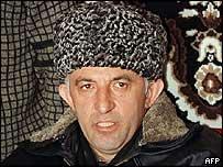 Aslan Maskhadov (archive pic)