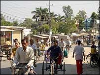 Dhangadhi street scene
