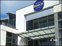 The Imax theatre on Bournemouth seafront (pic courtesy of freefoto.com)