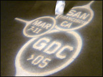 GDC logo in lights, Owain Bennallack