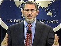Richard Boucher, portavoz del departamento de Estado de EE.UU.