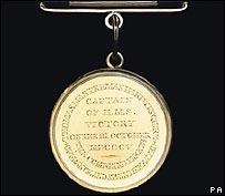 Captain Hardy's Trafalgar medal