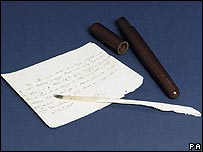 Nelson's quill