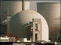 Biblis nuclear power station, Germany