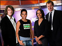 Howard Marks, Ms Dynamite, Dame Kelly Holmes and Alastair Campbell