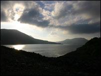 Tryweryn lake