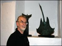 Sculptor John Meirion Morris