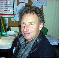RSPB warden Barry O'Dowd