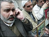 Ismail Haniya one of the leaders of Palestinian Islamic movement Hamas