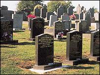 Adfa chapel cemetery