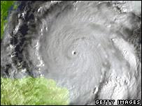 Huracán Wilma.