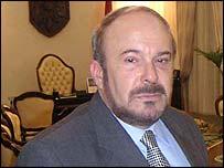 Prime Minister Fatos Nano