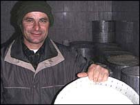 Neim Gjipali, cheese maker