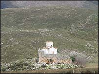 Church on Karaburuni peninsula