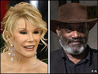 Joan Rivers and Darcus Howe