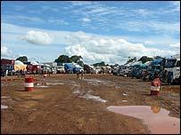 Kasumbalesa trucks