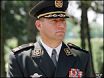 Croatian war crimes suspect Gen Ante Gotovina