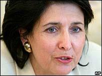 Salome Zurabishvili. File photo