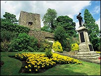 Clitheroe Castle - picture courtesy of Lancashire County Council