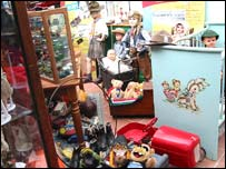 Toys at the museum