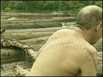 This man claims to have been attacked after reporting illegal logging