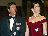 Denmark's Crown Prince Frederik and Princess Mary