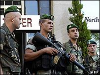 Troops in Beirut