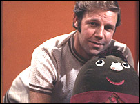 Brian Cant with Humpty