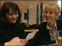 Andrea Draycott and Christine Bradshaw