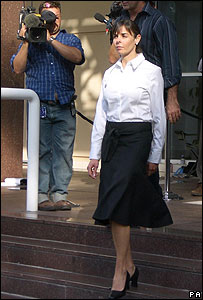 Joanne Lees at the Supreme Court in Darwin