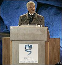 Kofi Annan, secretario general de la ONU