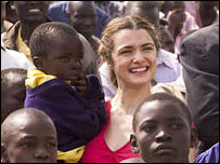 Rachel Weisz in The Constant Gardener