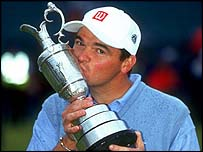 Paul Lawrie at the 1999 Open