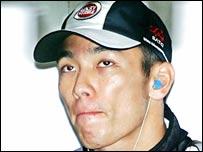 Formula One driver Takuma Sato