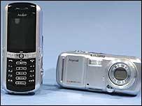 Samsung's 7-megapixel mobile phone