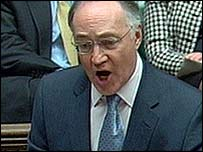Tory leader Michael Howard responds to the Budget