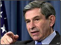 Deputy Secretary of Defence Paul Wolfowitz