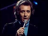 Tony Christie in the early 1970s