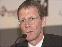 Sir Nicholas Serota, director of the Tate gallery