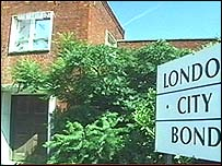 Loindon City Bond warehouse, exterior