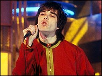 Ian Brown in The Stone Roses